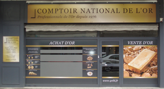 Achat Or & Vente d'Or Tours 37000 Rachat d'Or à Tours Comptoir National de l'Or Tours
