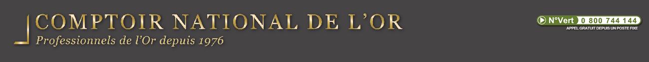 Comptoir National de l'Or - 0 800 744 144