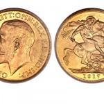 Le souverain britannique or