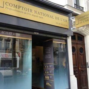 Le Comptoir National de l'Or de Boulogne Billancourt : «Merci à nos clients»