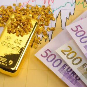 La hausse de l'euro impacte positivement le cours de l'once