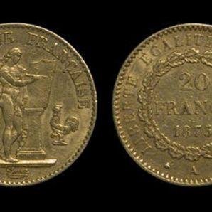 Pièces d'or: Le 20 Francs Génie