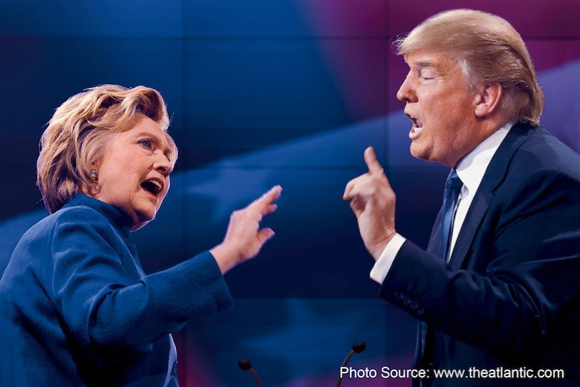 Trump-Clinton-debat-comptoir-or