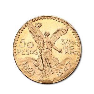 pièce d'or 50 pesos