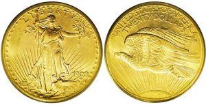 pièce d'or Liberty 20 dollars