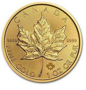 La Maple Leaf en Or