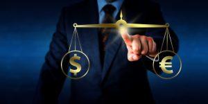 Guerre des monnaies : Euro contre dollar