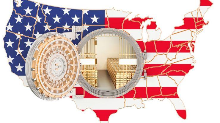 La réserve d'or des Etats-Unis, risque d'implosion du système monétaire mondial