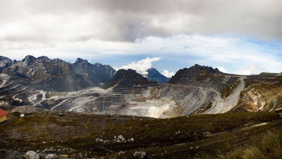 L'or de Grasberg, une mine de revenus pour le gouvernement indonésien