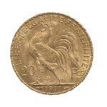 Pièces d'or Napoléon 20 Frs