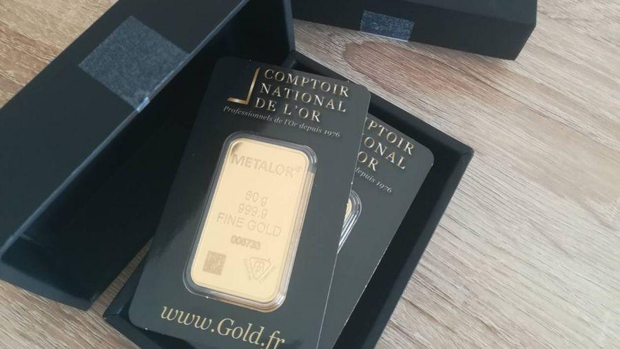 lingot or comptoir national de l'or