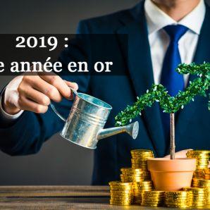 2019 une année en or