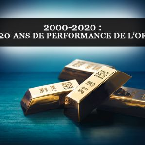 2000-2020 : 20 ans de performance de l'or