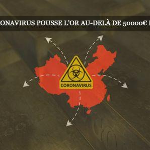 Le coronavirus pousse le métal jaune au-delà de 50 000 euros le kilo