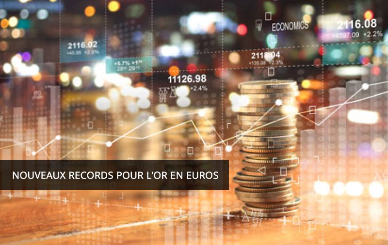 Nouveau records pour l'or en euros 17/02/2020