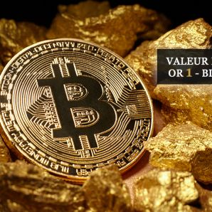 Valeur refuge : Or 1 – Bitcoin 0