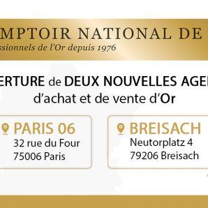 Ouverture de deux nouvelles agences : Paris 06 et Breisach