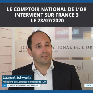 Le Comptoir National de l'Or sur France 3 le 28/07/2020