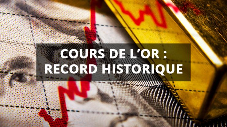 Cours de l'or : record historique