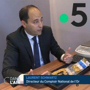 Le Comptoir National de l'Or dans C dans l'air (France 5)
