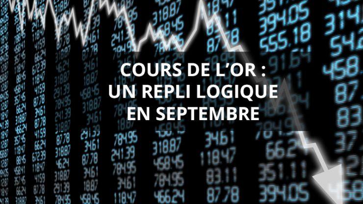 Rapport mensuel septembre 2020 - gold.fr