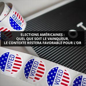Elections américaines: quel que soit le vainqueur, le contexte restera favorable pour l'or