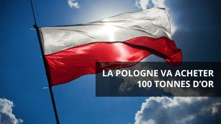 Achat d'or par la Pologne
