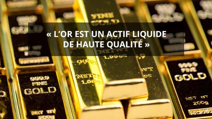 or actif liquide