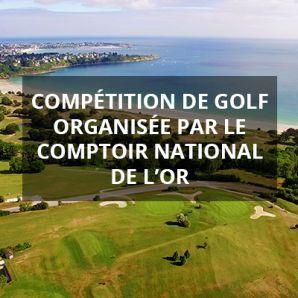 Compétition de Golf à Saint Cast les Guildo organisée par le Comptoir National de l'Or