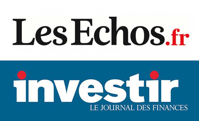 Le Comptoir National de l'Or cité par Les Echos Investir le 27/07/2020 L'once au plus haut historique
